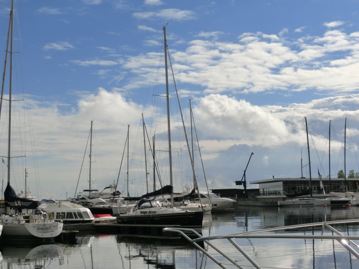yachts in Tuborg Havn