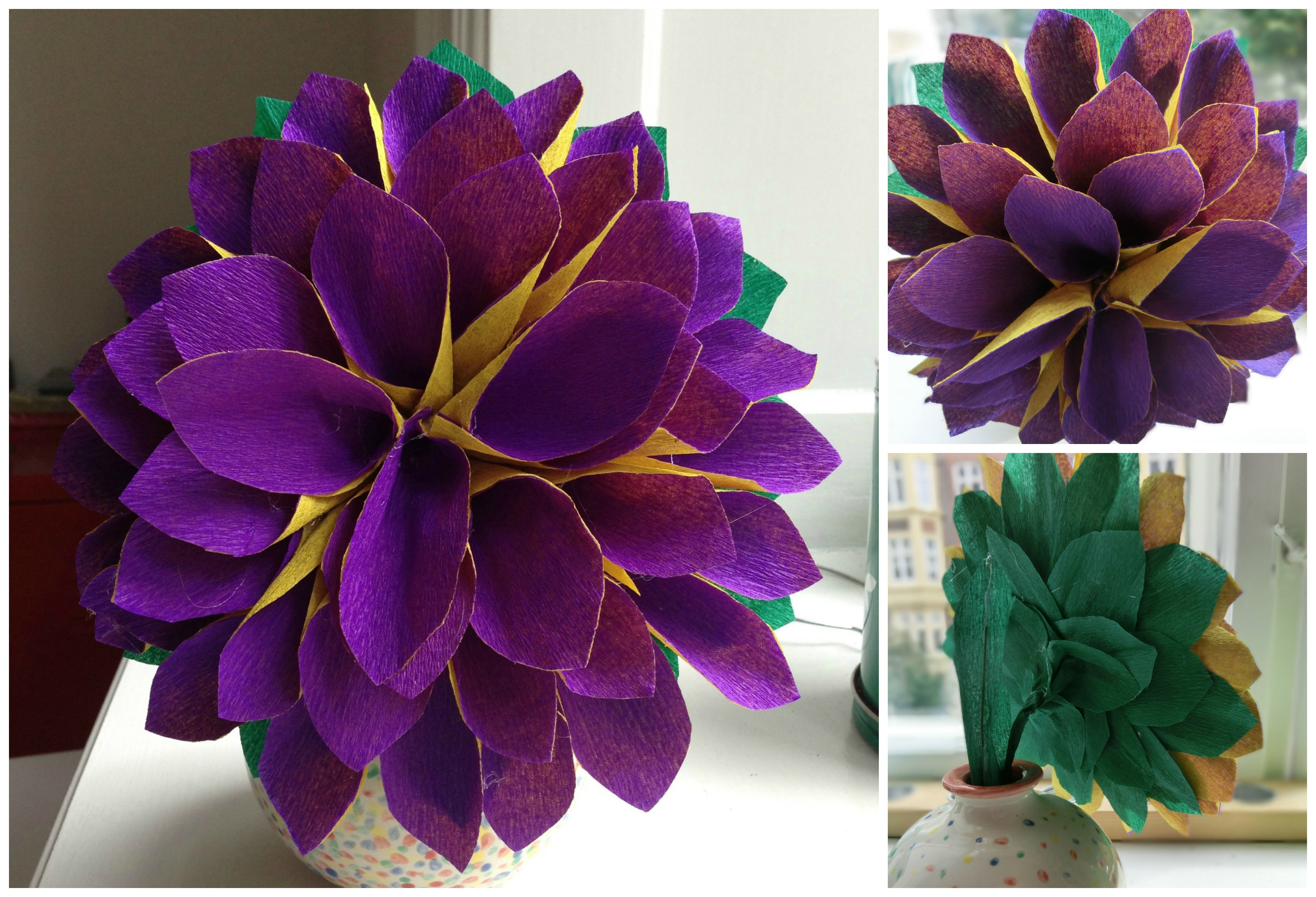 Making Paper Flowers Dejlige Days