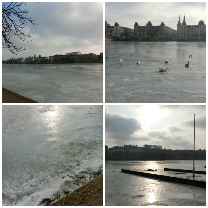ice on the lakes