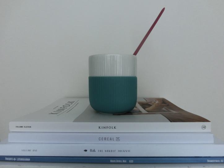 coffee table and mug