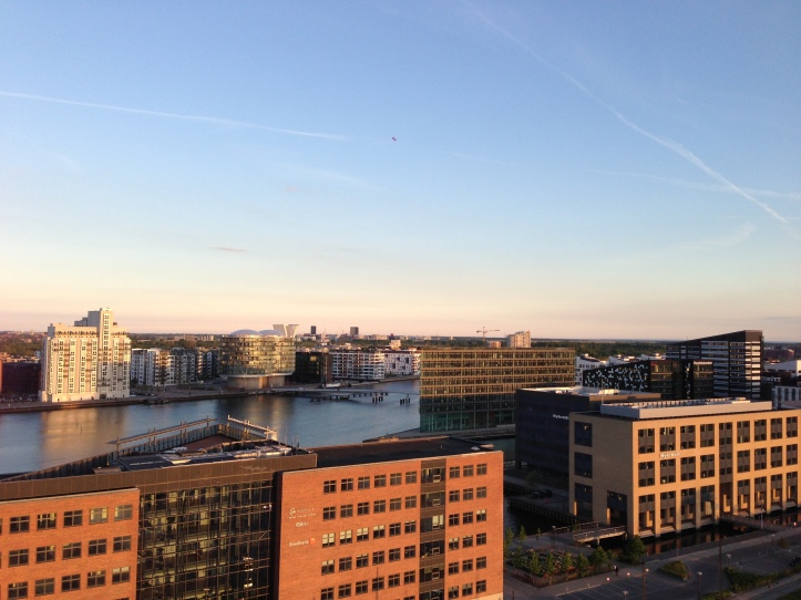 view over Copenhagen harbour