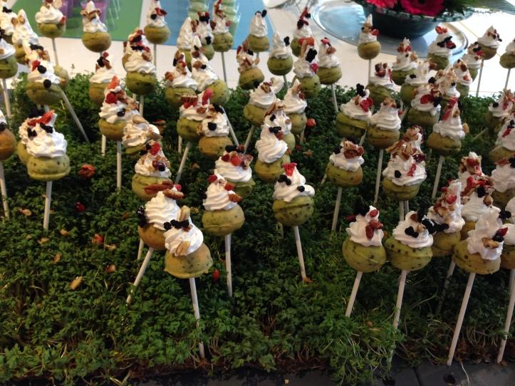spinach and quinoa cakepops