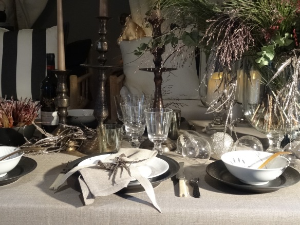 Royal copenhagen christmas tables dejlige days