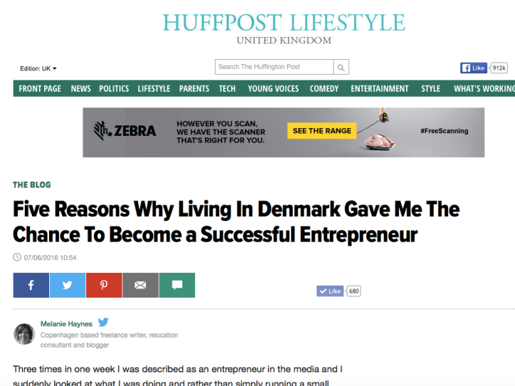 huff post entrepreneur